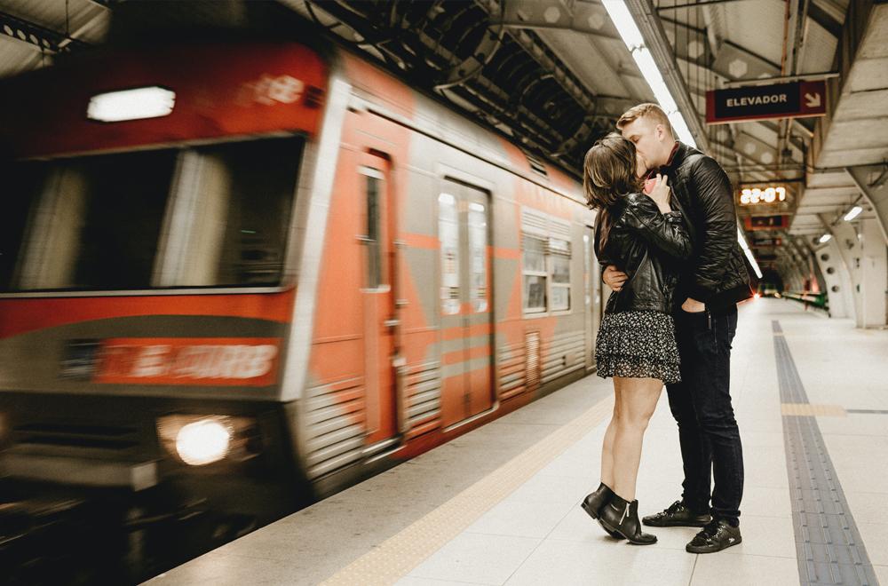 Geben Sie Ihrem Partner Einen Platz Im Reisezug Des Lebens